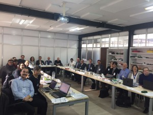 The consortium at the GA iin Lubrizol's facility in Montmelo, Spain